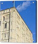Norwich Castle Acrylic Print by Tom Gowanlock