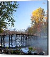 Old North Bridge Concord Acrylic Print by Brian Jannsen