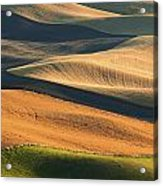 Patterns Of The Palouse Acrylic Print by Latah Trail Foundation