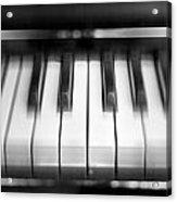 Piano Acrylic Print by Jelena Jovanovic