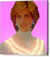 Princess Diana Acrylic Print by Michael Rucker