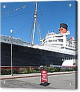 Queen Mary - 12121 Acrylic Print by DC Photographer