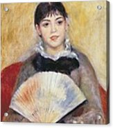 Renoir, Pierre-auguste 1841-1919. Girl Acrylic Print by Everett