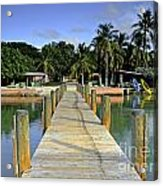 Resort Acrylic Print by Bruce Bain