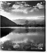 Romantic Lake Acrylic Print by Bernard Jaubert