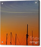 Sailing Boats Acrylic Print by Stelios Kleanthous