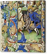 Saint George And The Dragon Acrylic Print by Getty Research Institute