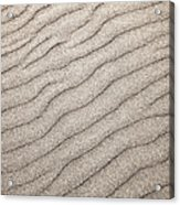 Sand Ripples Abstract Acrylic Print by Elena Elisseeva