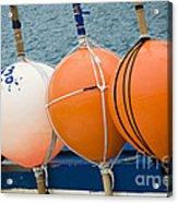 Seaside Colors Acrylic Print by Frank Tschakert