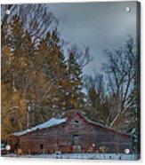 Small Barn Acrylic Print by Paul Freidlund