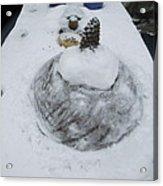 Snow Fall Serie December 2012  Acrylic Print by Colette V Hera  Guggenheim