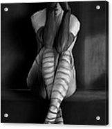 Tears Acrylic Print by H James Hoff