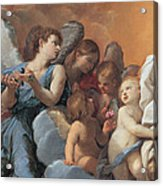 The Assumption Of The Virgin Mary Acrylic Print by Guido Reni