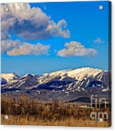 The Butte Acrylic Print by Robert Bales