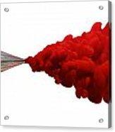 The Creative Flow Acrylic Print by Allan Swart