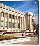 The Field Museum In Chicago Acrylic Print by Paul Velgos