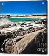 The Jersey Shore Acrylic Print by Paul Ward