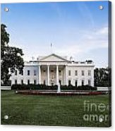 The White House Acrylic Print by John Greim