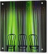 Three Acrylic Print by Margie Hurwich