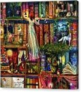 Treasure Hunt Book Shelf Acrylic Print by Aimee Stewart