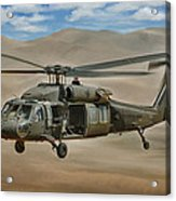 Uh-60 Blackhawk Acrylic Print by Dale Jackson