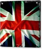 Union Jack Acrylic Print by Les Cunliffe