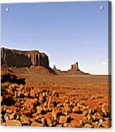 Utah's Iconic Monument Valley Acrylic Print by Christine Till