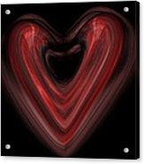 Valentine Acrylic Print by Christopher Gaston