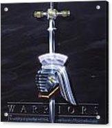 Warriors Acrylic Print by Cliff Hawley