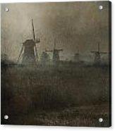 Windmills Acrylic Print by Joana Kruse