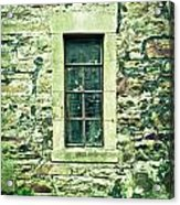 Window Acrylic Print by Tom Gowanlock
