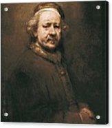 Rembrandt, Harmenszoon Van Rijn, Called Acrylic Print by Everett
