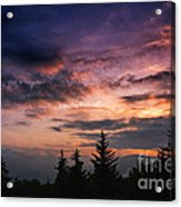 Summer Solstice Sunrise Acrylic Print by Thomas R Fletcher