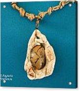 Aphrodite Antheia Necklace Acrylic Print by Augusta Stylianou