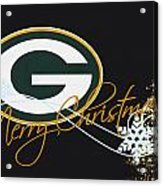 Green Bay Packers Acrylic Print by Joe Hamilton