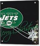 New York Jets Acrylic Print by Joe Hamilton