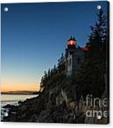 Bass Harbor Lighthouse Acrylic Print by John Greim