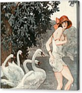 La Vie Parisienne  1923 1920s France Acrylic Print by The Advertising Archives