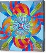 Mandala Acrylic Print by Martin Zezula