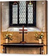 14th Century Chapel Acrylic Print by Adrian Evans