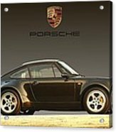Porsche 911 3.2 Carrera 964 Turbo Acrylic Print by Ganesh Krishnan