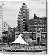 165 Charles Street Pier 45 Hudson River Park New York City  Acrylic Print by Joe Fox