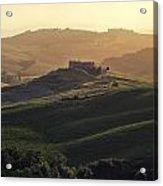 Tuscany - Val D'orcia Acrylic Print by Joana Kruse
