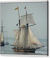 1812 Pride Of Baltimore II Acrylic Print by Marcia Lee Jones