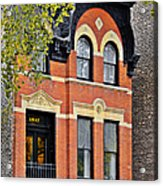 1817 N Orleans St Old Town Chicago Acrylic Print by Christine Till