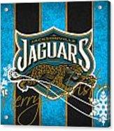 Jacksonville Jaguars Acrylic Print by Joe Hamilton