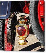 1911 Ford Model T Torpedo 4 Cylinder 25 Hp Taillight Acrylic Print by Jill Reger