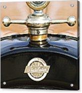 1922 Studebaker Touring Hood Ornament Acrylic Print by Jill Reger