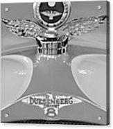 1926 Duesenberg Model A Boyce Motometer 2 Acrylic Print by Jill Reger
