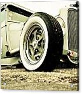 1928 Ford Model A Hot Rod Acrylic Print by Phil 'motography' Clark